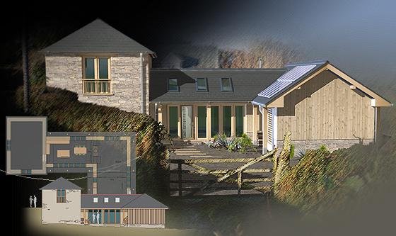 architecture 3d illustration - Architecture Design 3d