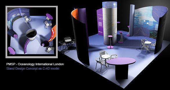 Exhibition Stand Design Devon : Alan clarke design exhibition stand design for pmsp at